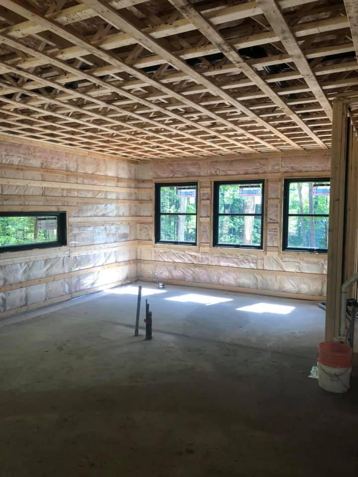 interieur maison construction