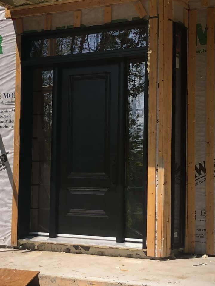 porte maison construction
