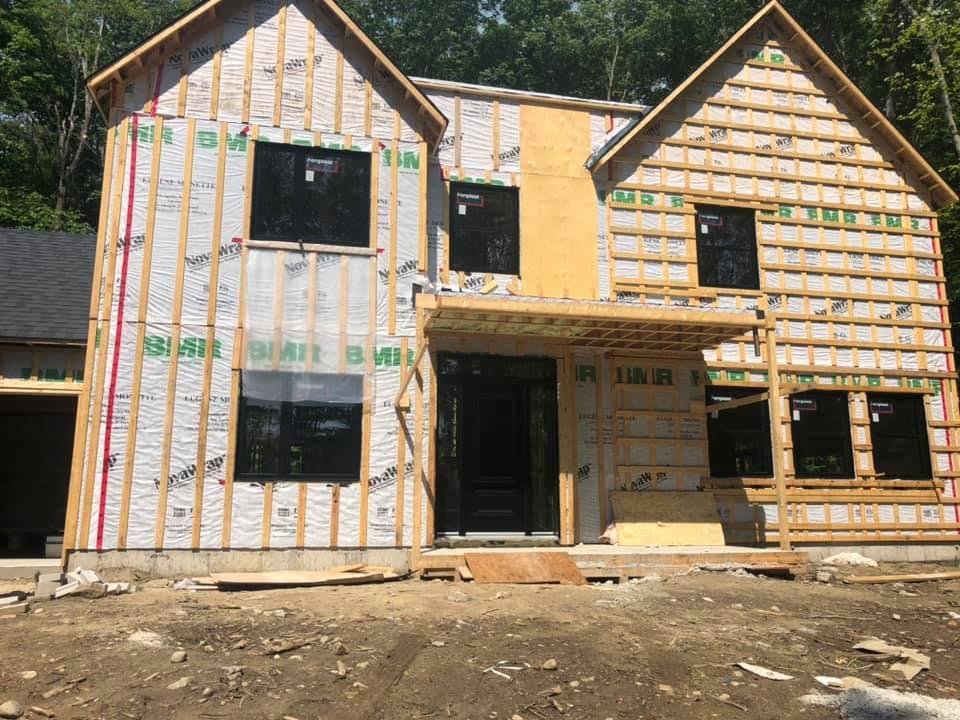 avant maison construction