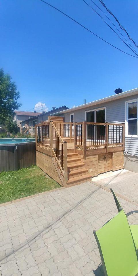 balcon piscine arriere de loin
