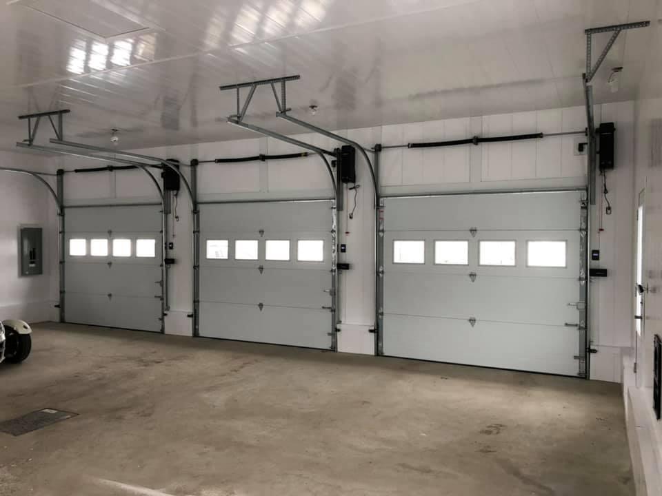 intérieur portes garage